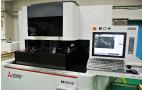 微細加工ワイヤー放電加工機導入