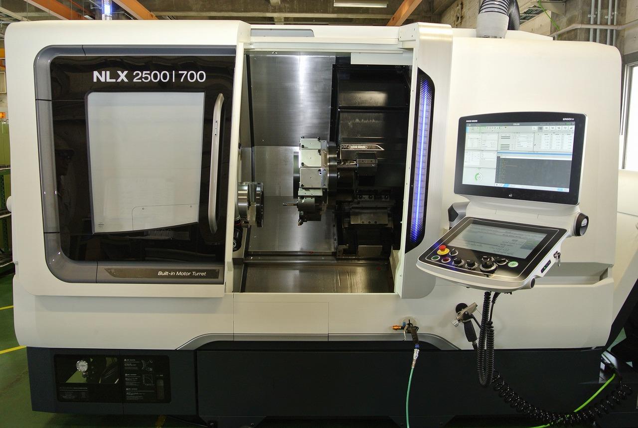 高剛性・高精度CNC旋盤導入(DMG森精機製NLX2500)