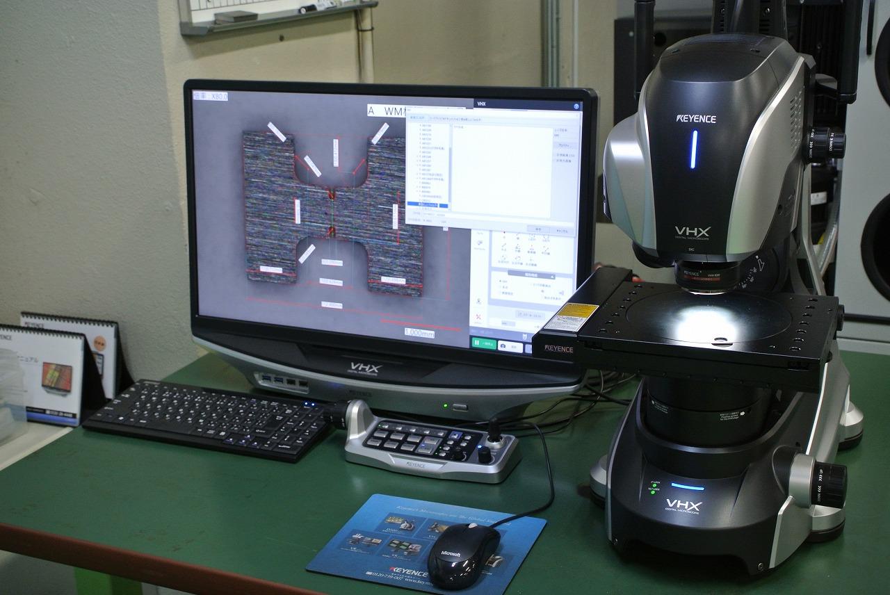 超高精細 4Kデジタルマイクロスコープ導入(キーエンス製 VHX-7000)