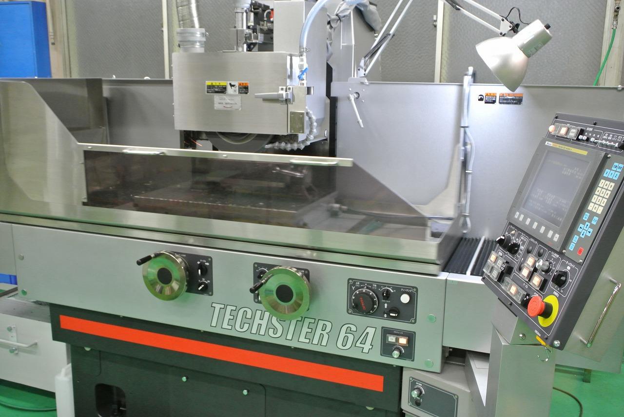 CNC平面研削盤導入