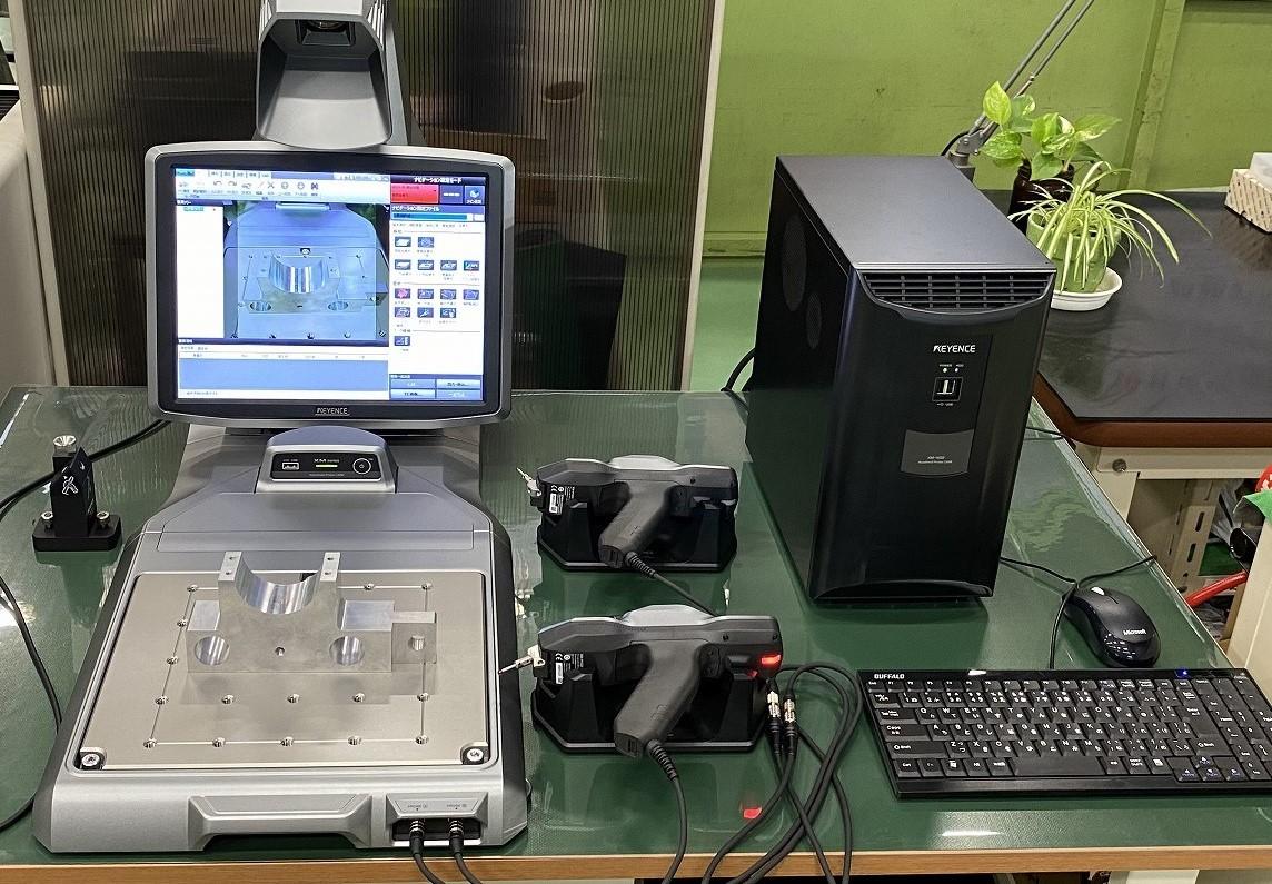 ハンディプロープ三次元測定機 導入